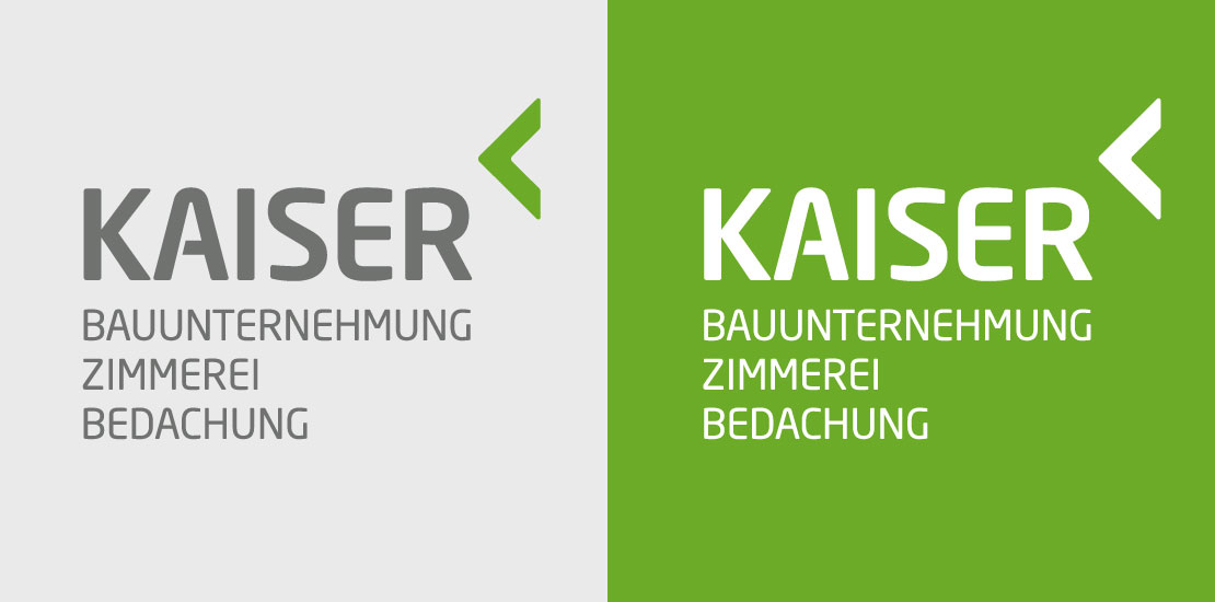 Logodesign Kaiser Hochbau in Beckingen