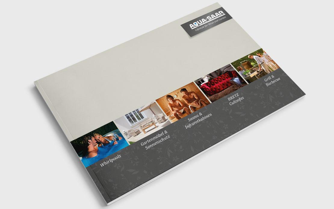 Visuelles Erscheinungsbild Aquasaar – Lifestyle für Haus & Garten ...